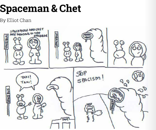 Spaceman and Chet