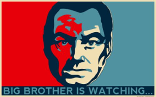 1984 big brother is still watching